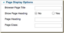 Joomla 2.5 Page Display Options to hide menu title